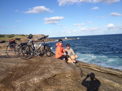 Nasza pierwsza przejażdżka po Sydney. Coogee.