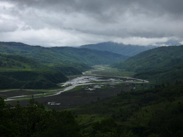 """Ziemie stanu nie będącego stanem """"Nagaland""""."""
