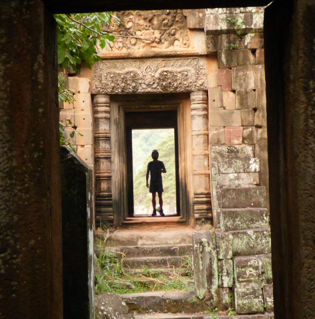Wejśce do labiryntu. Angkor Thom. Kambodża.