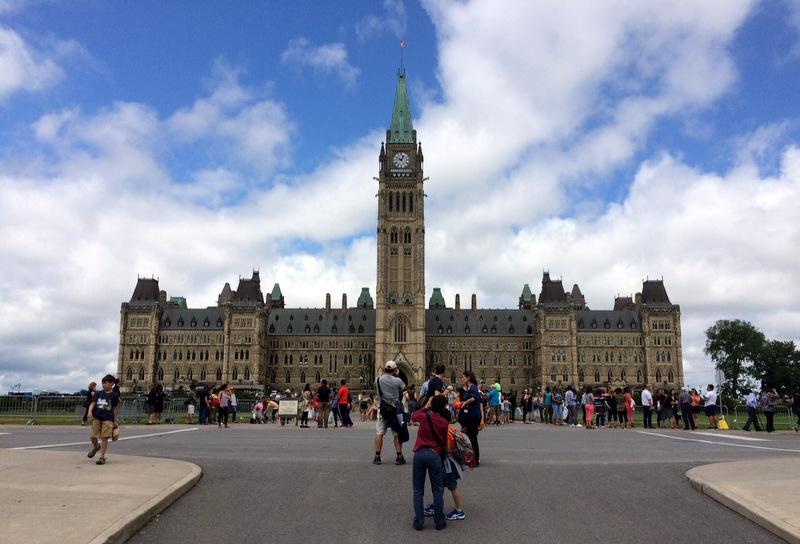 Parlament Kanady. The Parliament Hill, Ottawa.