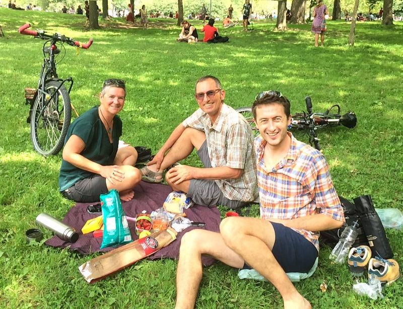 Spotkanie z Gayle i Johnem - ludźmi którzy pomogli przekuć moje marzenia na konkretny plan.