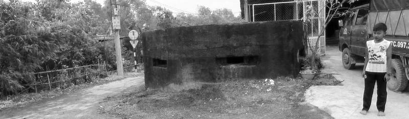 Strefa DMZ. 17 równoleżnik, którym sztucznie podzielono Wietnam na Północny i Południowy.