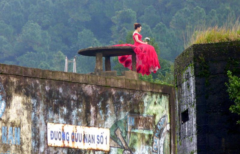Na szczycie przełęczy Hải Vân czekała, ale innego wybranka już miała...